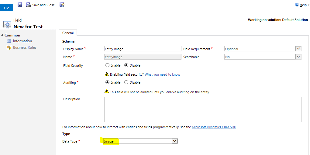 Add Identity to Custom Entities in Dynamics CRM - Ledgeview