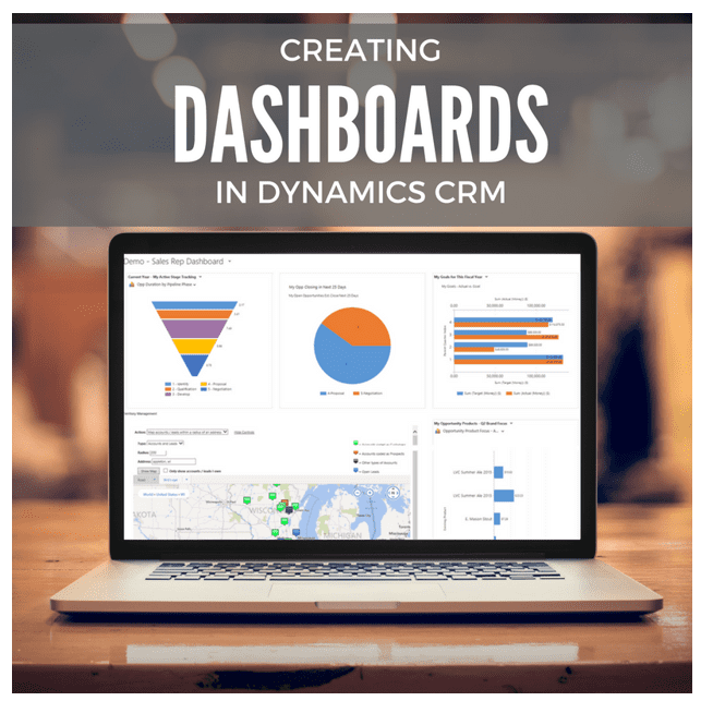 Creating Dashboards in Microsoft Dynamics CRM/365