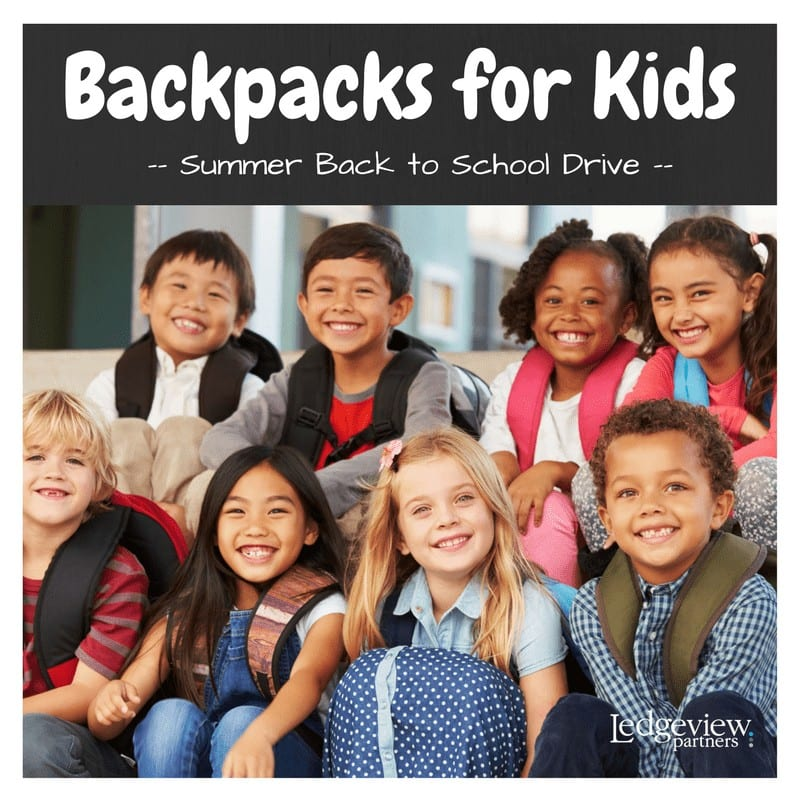 Back to School Ledgeview Fundraiser 1