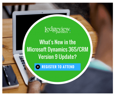 What's New in the MS Dynamics V9 Update