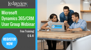 Microsoft Dynamics 365 CRM User Group Webinar