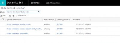 How to Bulk Delete in Dynamics 365/CRM