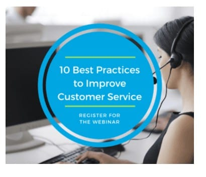 Customer Service Webinar April 2018