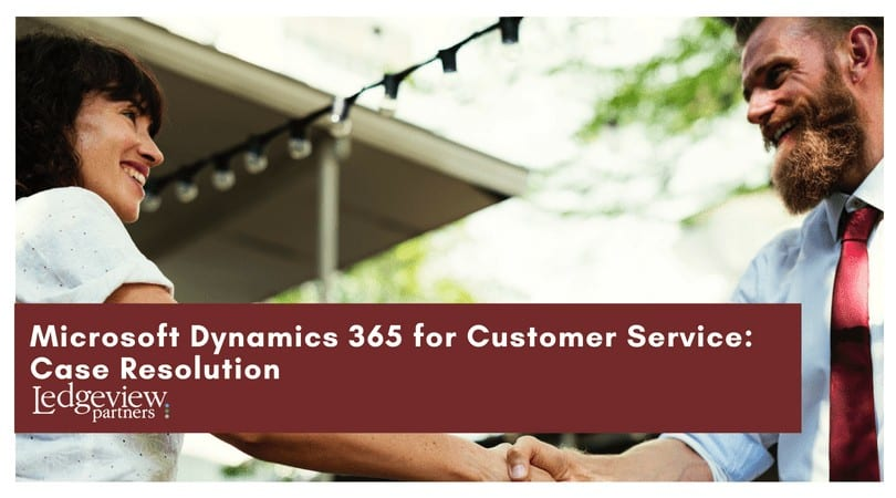 Customer Service Case Resolution
