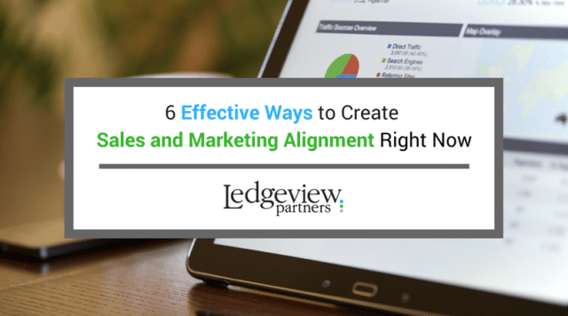 Create Sales and Marketing Alignment