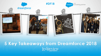 Ledgeview Partners at Dreamforce 2018