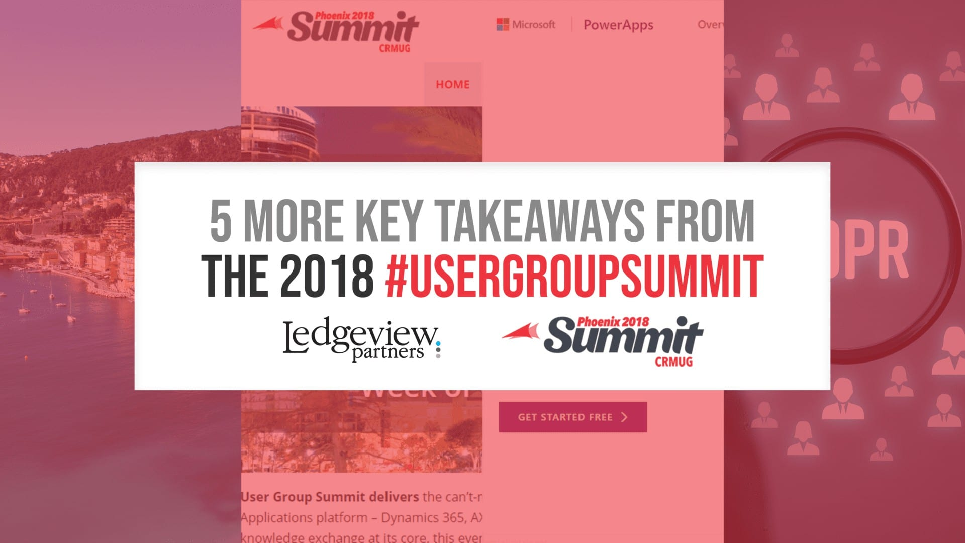5 More Key Takeaways from the 2018 #UserGroupSummit