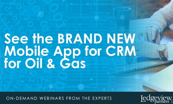 CRM for Oil and Gas Webinar