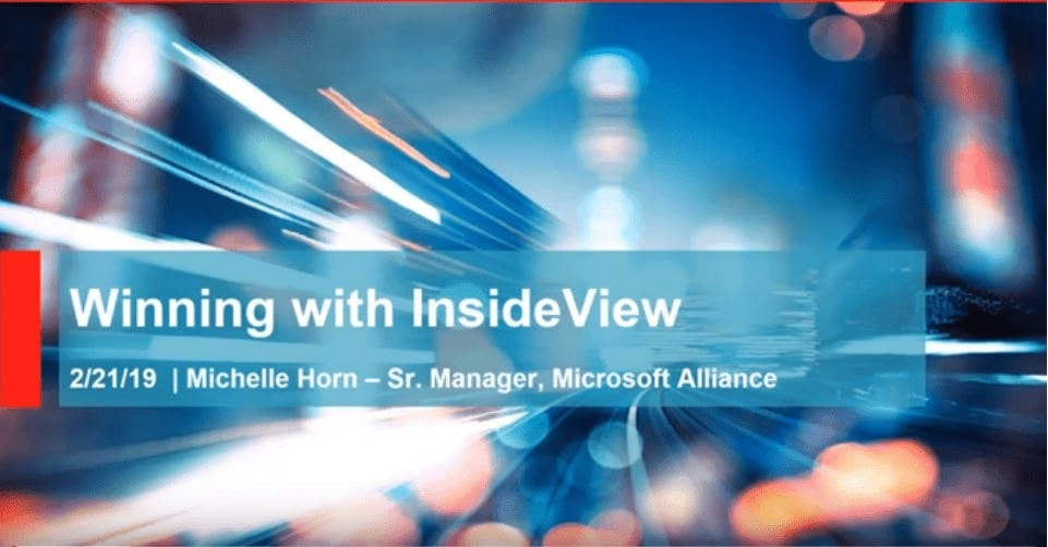 Ledgeview Partners Webinar with InsideView