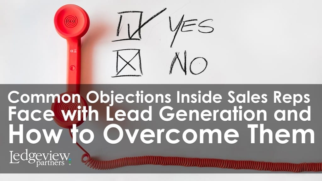 Common Objections Inside Sales Reps