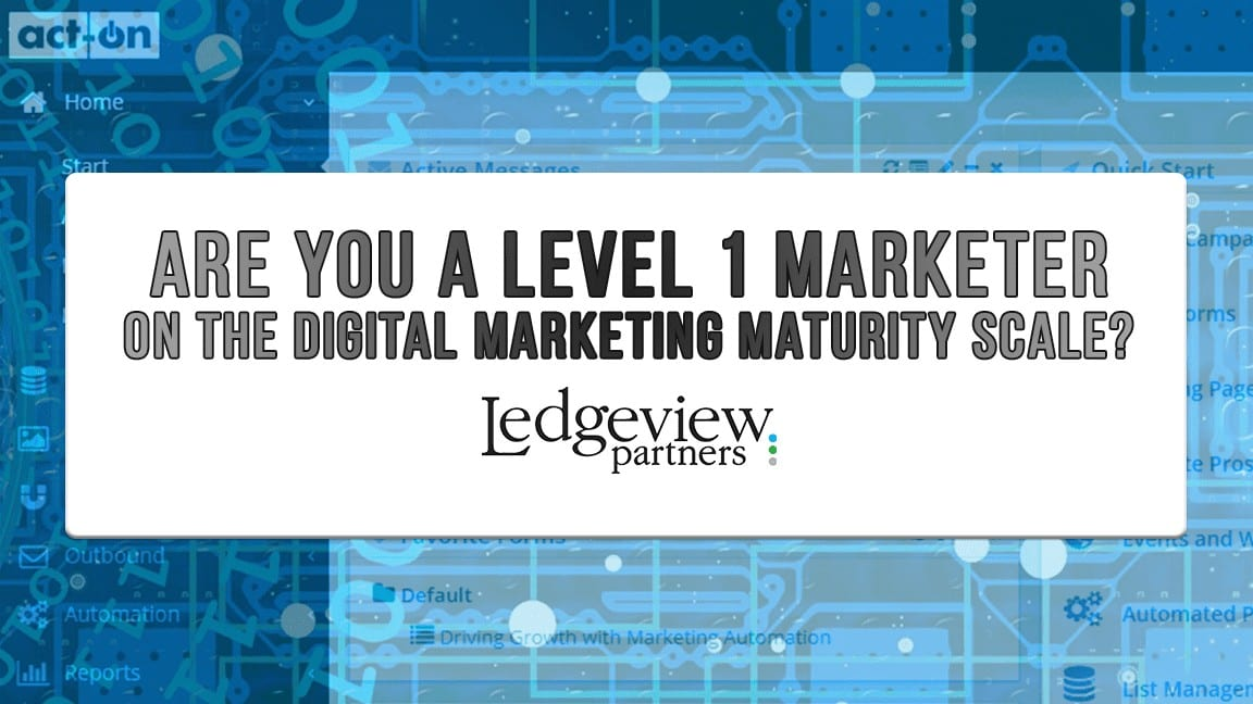 Ledgeview Partners and Act-On Software Marketing