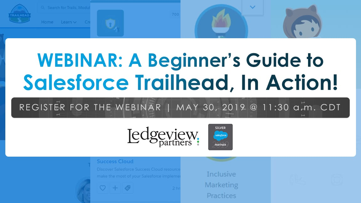 Salesforce Trailhead Webinar
