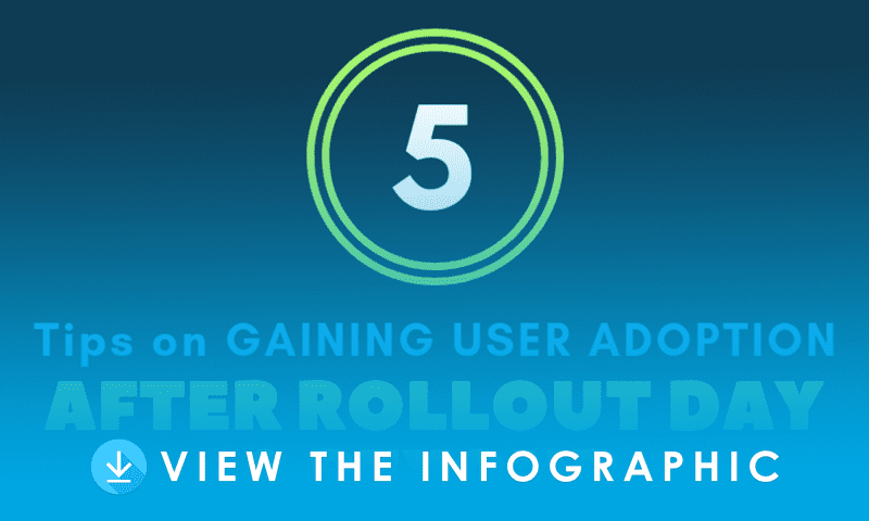 5 Tips on Gaining User Adoption After Rollout