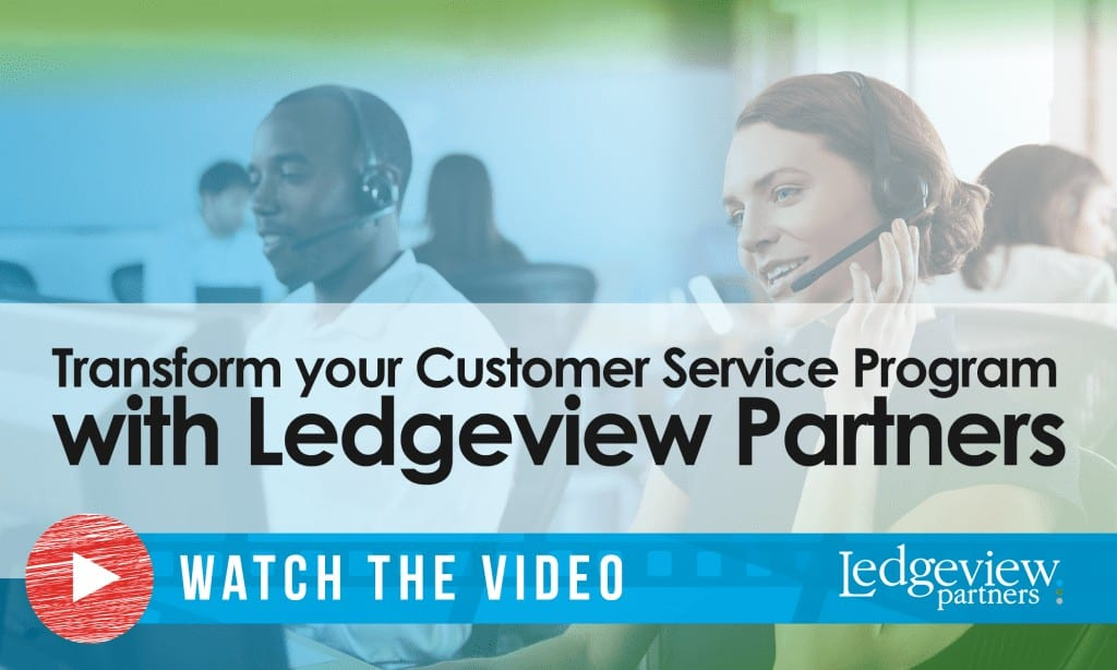 Ledgeview's Customer Service Consulting Services