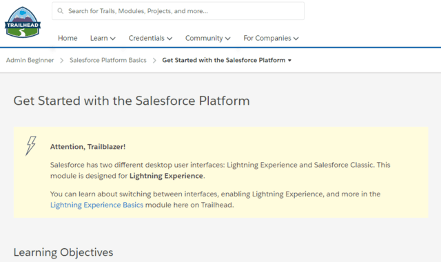 A Beginner's Guide to Salesforce Trailhead: Get Started with