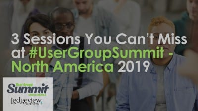 #UserGroupSummit 2019 North America