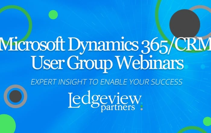 Microsoft Dynamics User Groups