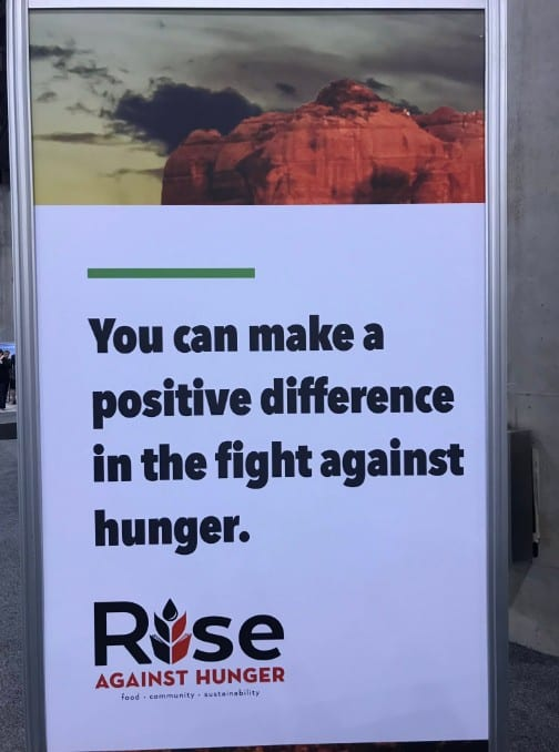 User Group Summit Fights Hunger