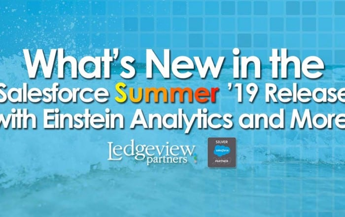 Salesforce Summer '18 Release