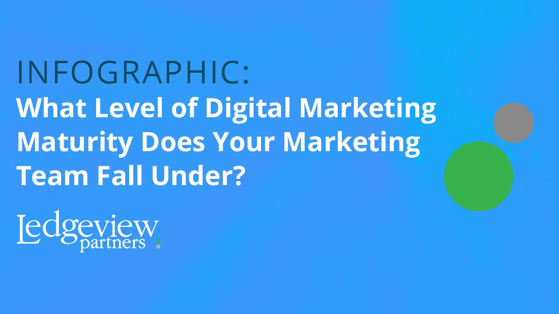 Digital Marketing Maturity Infographic