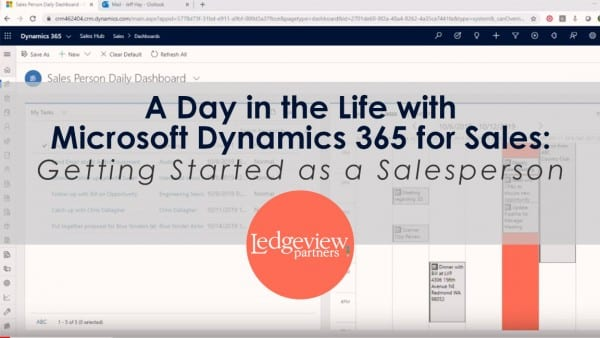 D365 for Sales Demo