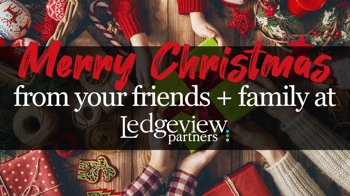 Happy Holidays from Ledgeview Partners