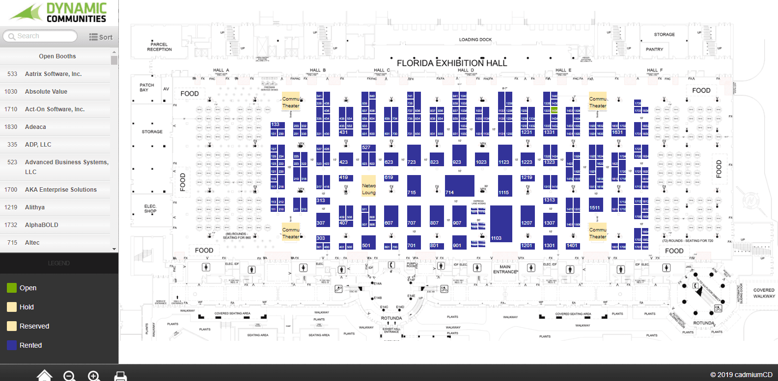 NA User Group Summit Floor Plan