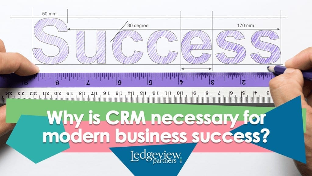 CRM equals modern business success