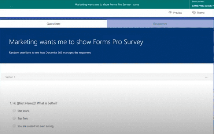 Forms Pro Demo