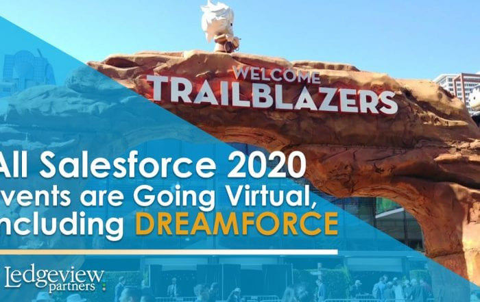 All Salesforce 2020 Events Going Virtual