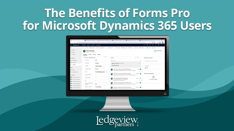Benefits of Forms Pro