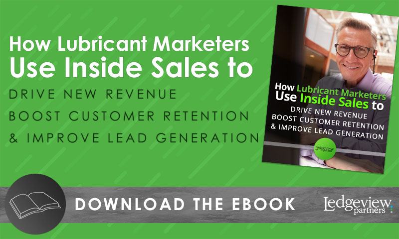 How Lubricant marketers use inside sales