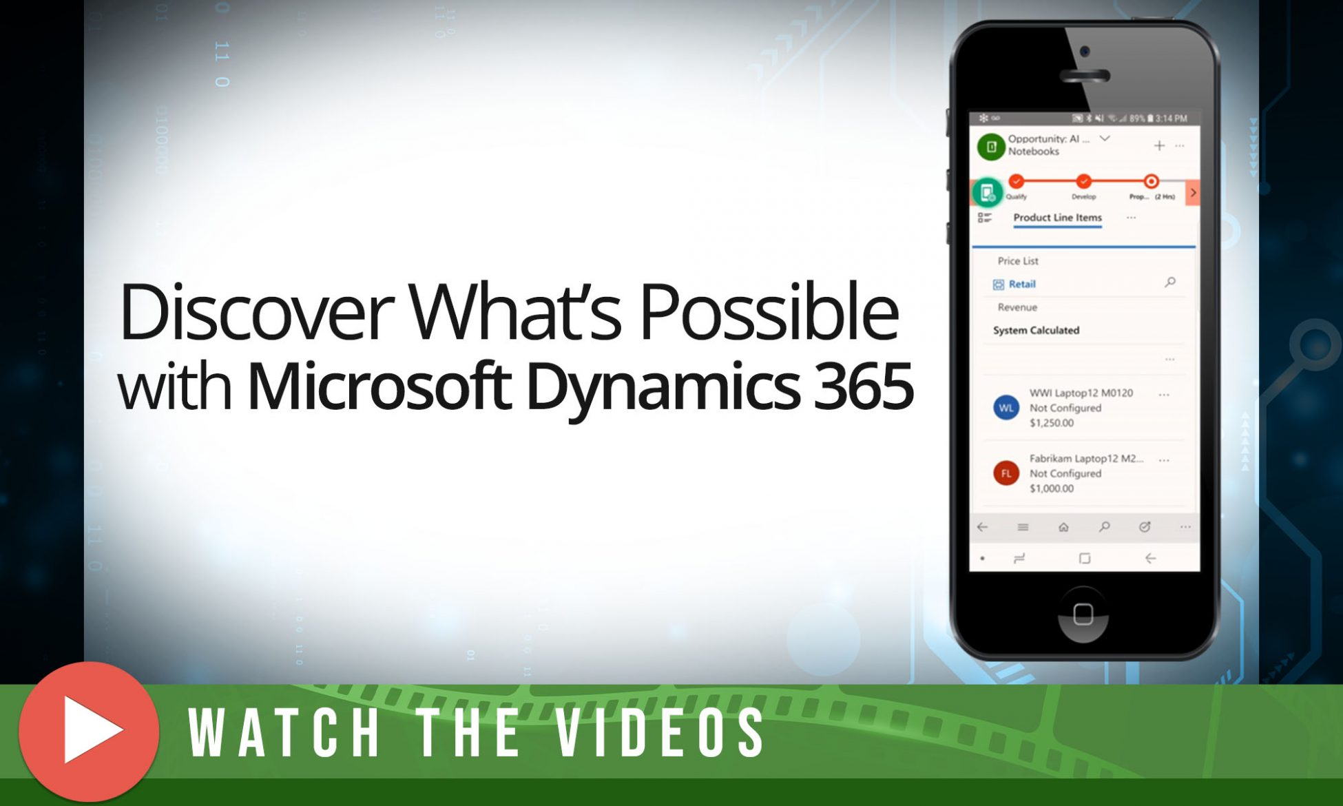 Discover What's Possible with Microsoft Dynamics 365