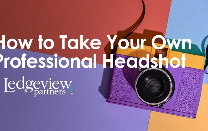 How to take your own professional headshot