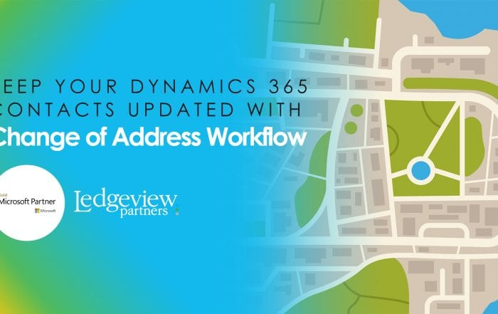 Keep your dynamics 365 contacts updated with Change of Address Workflow