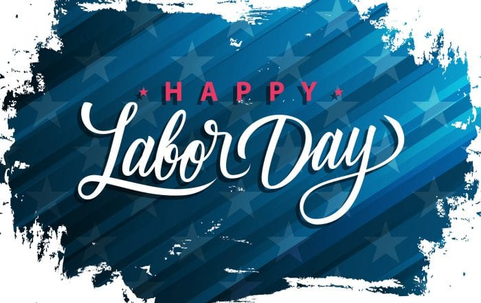 Offices Closed for Labor Day