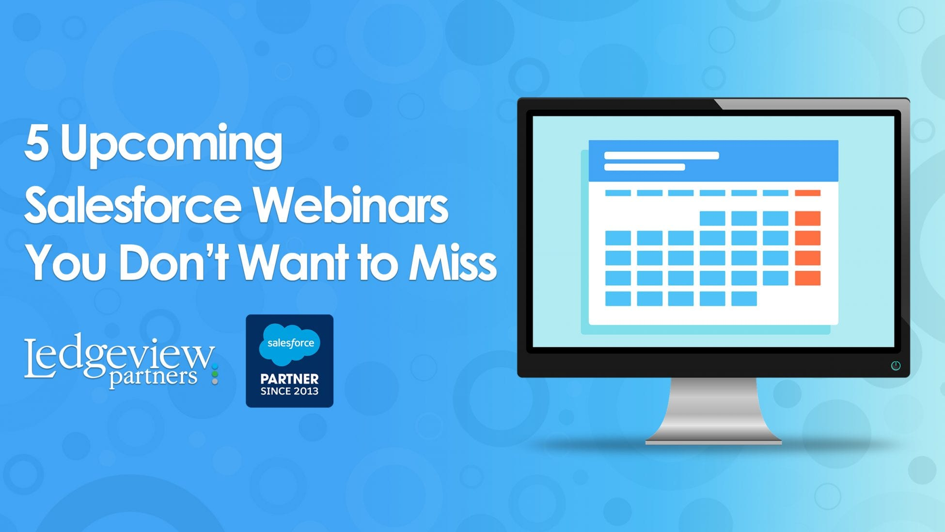 Upcoming Salesforce Webinars