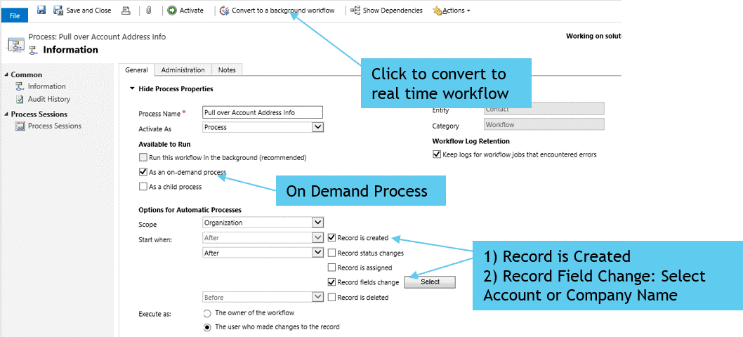 How to Map Data Between Fields in Microsoft Dynamics 365