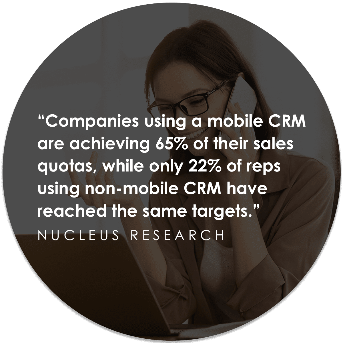 Drive Efficiencies with Mobile CRM