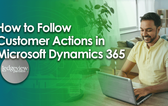 How to Follow Customer Actions