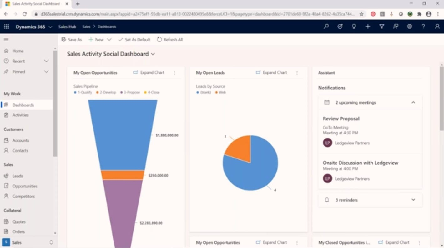 How to Plan for Your Week in Microsoft Dynamics 365 Sales and Manage Leads