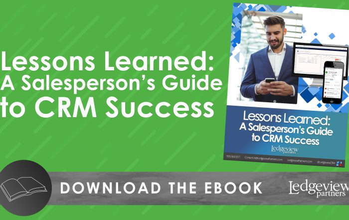 eBook: Lessons Learned: A Salesperson's Guide to CRM Success