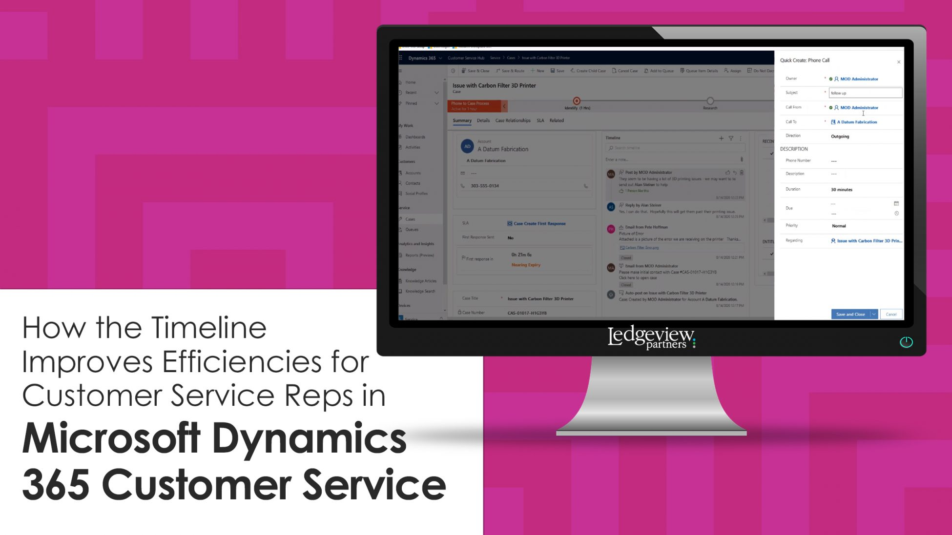 How the Timeline Improves Efficiencies for Customer Service Reps in Microsoft Dynamics 365 Customer Service