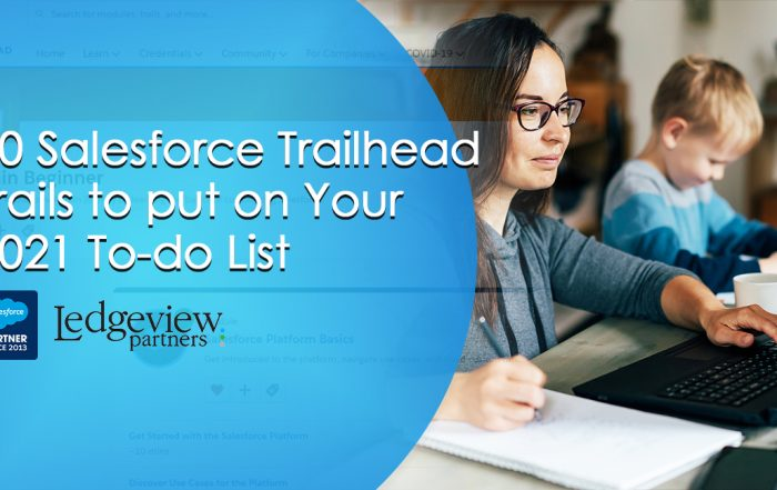 10 Salesforce Trailhead Trails to put on Your 2021 To-do List