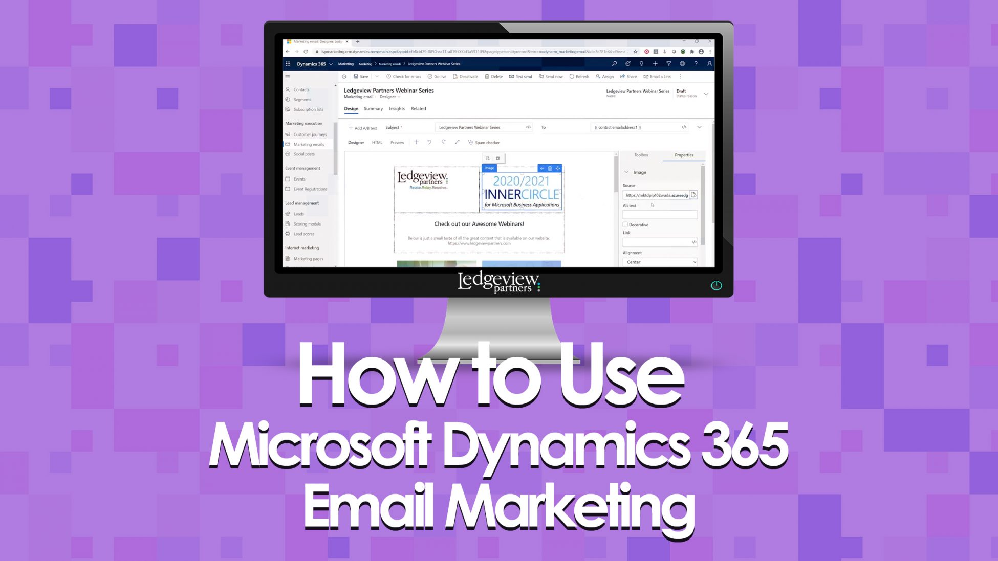 How to Use Microsoft Dynamics 365 Email Marketing