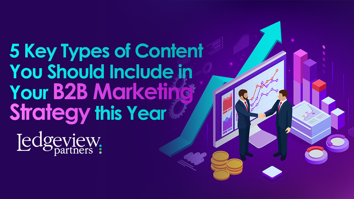 Types of Content You Should Include in Your B2B Marketing Strategy