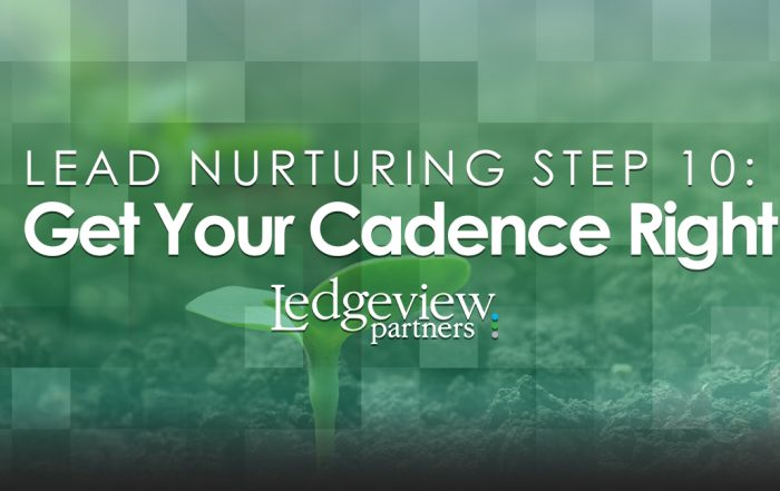 Get Your Cadence Right