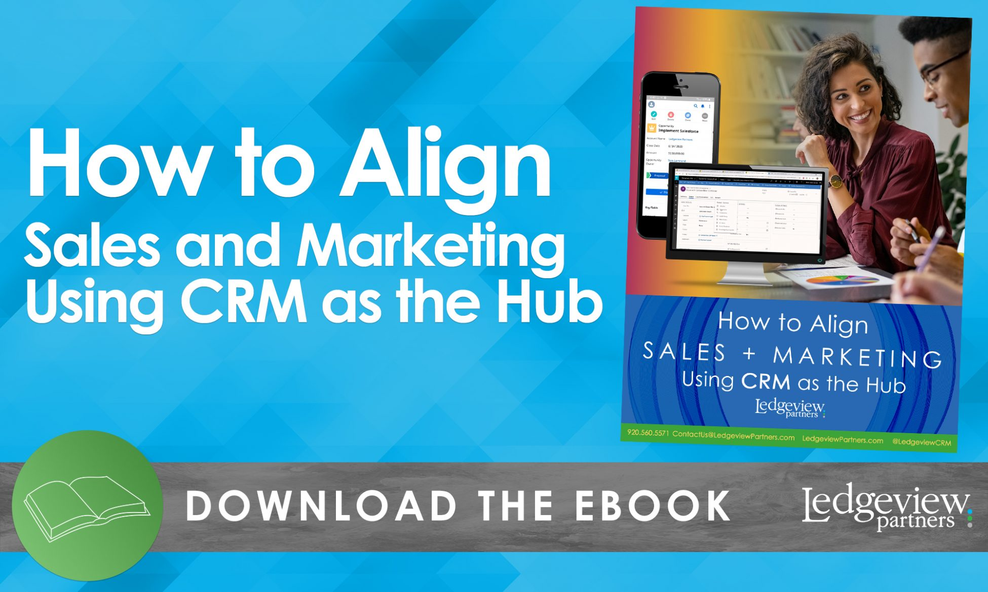 eBook: How to Align Sales and Marketing Using CRM as the Hub