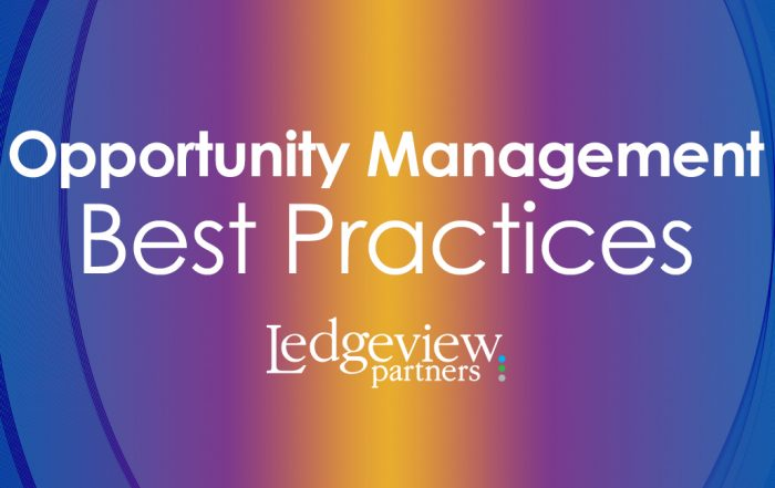 Opportunity Management Best Practices