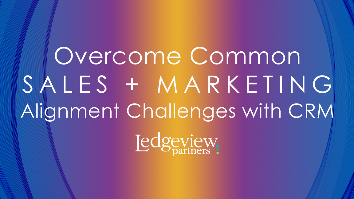 Sales and Marketing Alignment Challenges